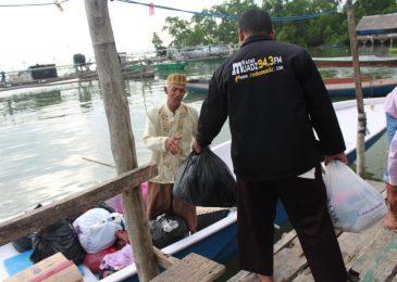 Distribusi Pakaian Layak Pakai Untuk Masyarakat Saponda