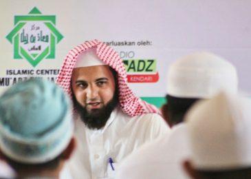Safari Dakwah  Fadhilatu Syaikh Manshur Bin Muhammad Assaalim Al Ju'aid di Kota Kendari