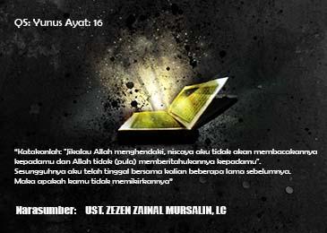 Kajian Tafsir Al – Muyassar 16 Dzul-Qa'idah 1437 (20-8-2016)