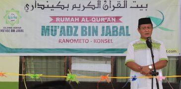 Peresmian Rumah Al-Qur'an ICM (RAI)