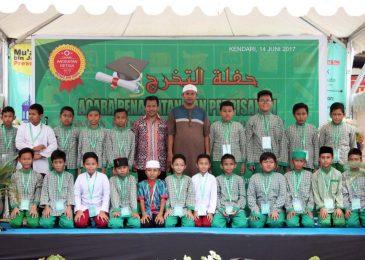 ICM gelar acara Penamatan dan Perpisahan Angkatan Ketiga Tahun Pelajaran 2016 – 2017 SD Tahfidzul Qur'an  Muadz Bin Jabal